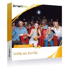 Coffret cadeau Sortie en famille SMARTBOX