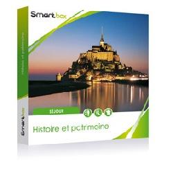 Smartbox Histoire et patrimoine