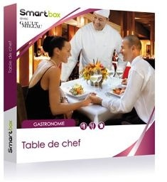 Coffret cadeau SMARTBOX Table de Chef
