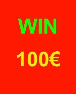 100€ pour le gagnant !