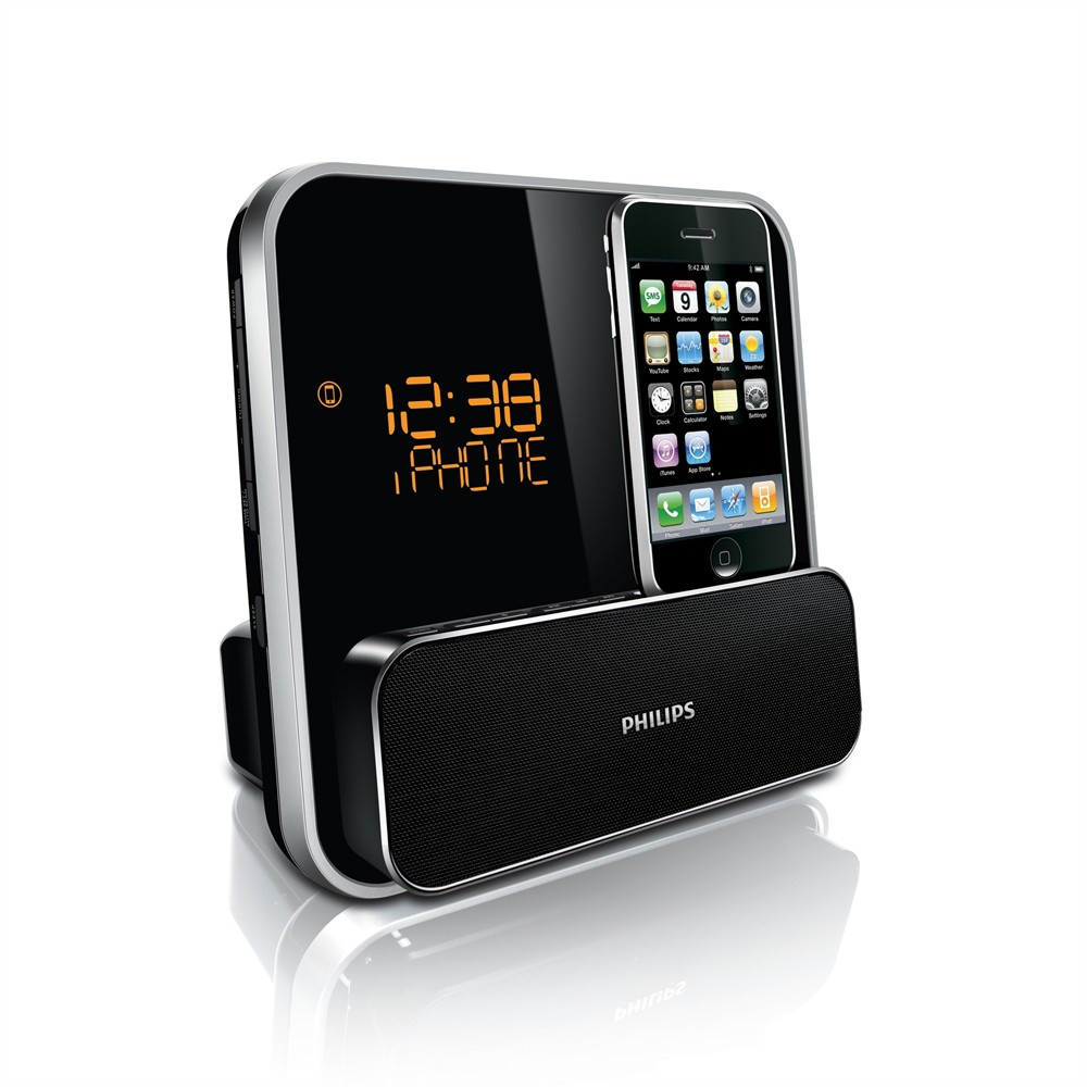 philips dc315 station d 39 accueil pour ipod iphone. Black Bedroom Furniture Sets. Home Design Ideas