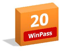 Pack de 20 WinPass
